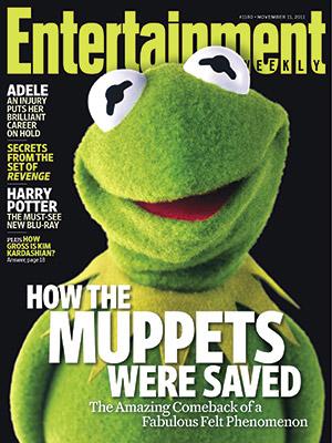 Entertainment weekly Nov 2011
