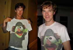 Cumberbatch Sherlock tshirt