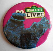 Sesame street live cookie pin