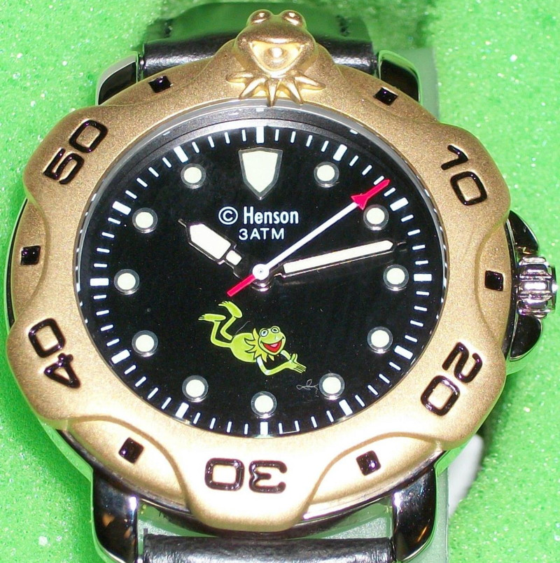 Kermit collection watch