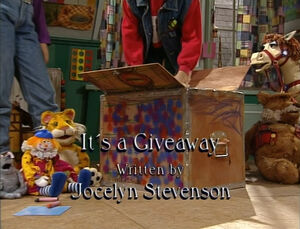 It's A Giveaway titlecard