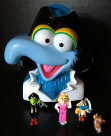 Bluebird toys uk polly pocket muppet treasure island pirate gonzo head toy set 1