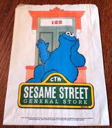 Sesame street general store 1990 paper bag 1