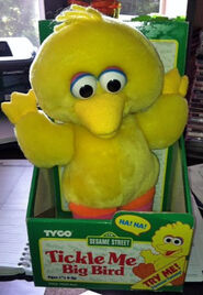 Tickle me big bird