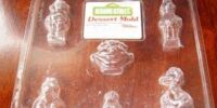 Sesame Street dessert molds (Wilton)