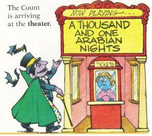 Arabiam mights theatre