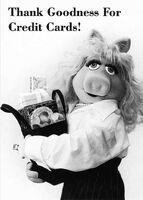 PiggyCreditCardPostcard