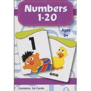 SesameStreetNumbers120FlashCards2010