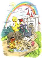 The Sesame Street Pet Parade