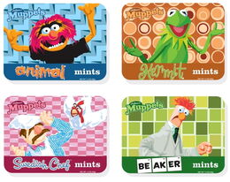 Muppet mints original designs