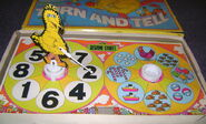 Colorforms 1973 big bird's turn and tell 2