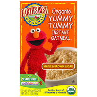 Maple & Brown Sugar Organic Yummy Tummy Instant Oatmeal