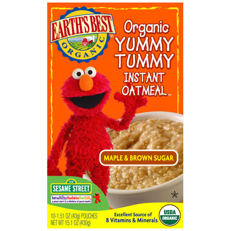 File:Maple & Brown Sugar Organic Yummy Tummy Instant Oatmeal.jpg