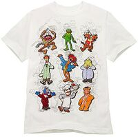 Muppet Sketches 2010 disney store shirt