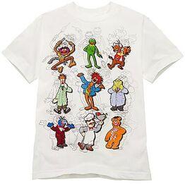 Muppet Sketches 2010 disney store shirt