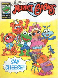 Muppet babies weekly uk 28 nov 1987
