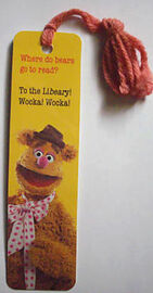 Antioch bookmark 1982 fozzie