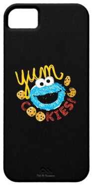 Zazzle cookie monster yum