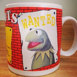 1989 WANTED mug Kermit