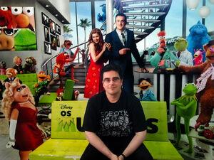 Guilherme Briggs e Muppets