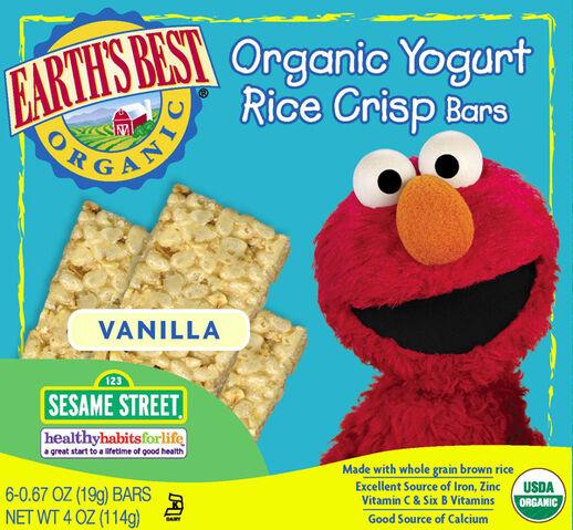 File:Yogurt Rice Crisp Cereal Bars - Vanilla.jpg