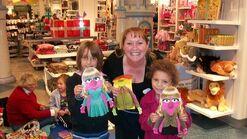 Disney Store Muppets craft event