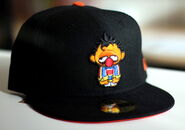 Sesame zombies new era cap ernie