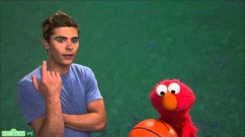 Sesame Street Zac Efron and Elmo - Patience