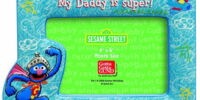 Sesame Street picture frames (Gund)