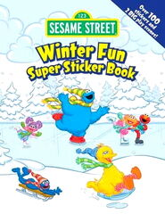 Dover winter fun sticker