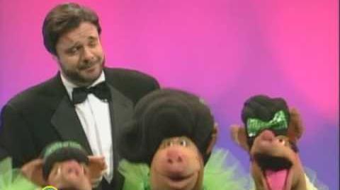 """Sesame Street Nathan Lane Sings """"Sing"""""""