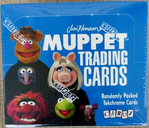 Muppet trading cards box 1