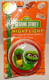 Demand marketing night light oscar d