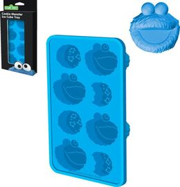 Ice cube tray cookie monster