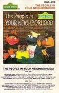 Sesame street cassette - the people in your neighborhood gnl-228