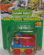 Fisher-price 1996 die-cast car ernie's dump truck