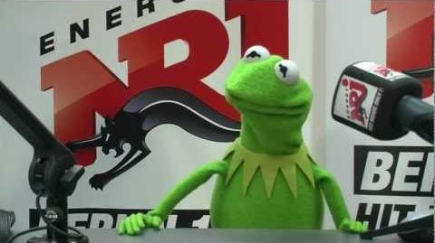 Kermit der Frosch bei ENERGY Berlin