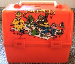 1981MuppetsOrangeLunchbox