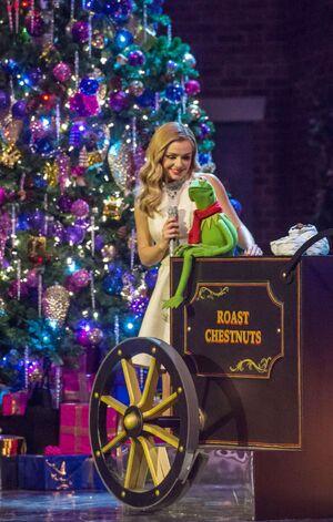 Katherine Jenkins Kermit the Frog 2