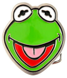 Belt buckle kermit hot topic