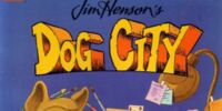 Dog City coloring book