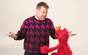 Elmo james corden furchester