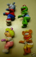 Muppet Kids happy meal toys