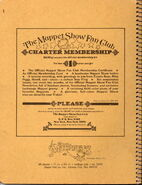 Stuart hall 1977 notebook muppet fan club ad