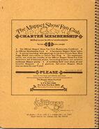Stuart hall 1977 notebook muppet fan club ad