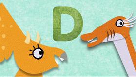 D is for Dinosaur