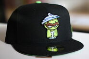 Sesame zombies new era cap oscar