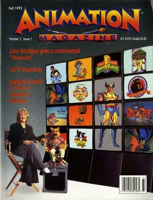Animation mag fall 1993