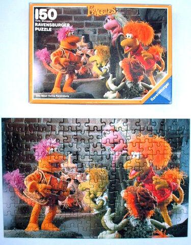 File:FragglesPuzzle-Ravensburger-KartengrussVonOnkelMatt-150Teile.jpg