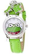 Jc penney kermit green strap charm watch